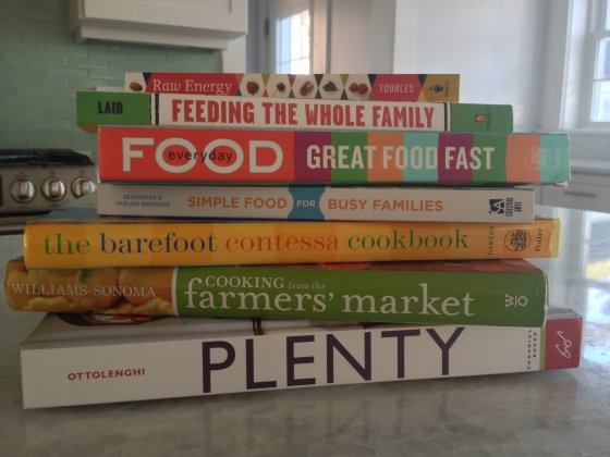 Just some of my favorite cookbooks