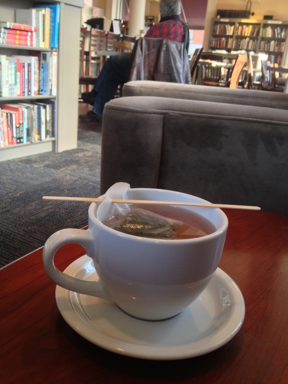 Tea @ The Portsmouth Book & Bar to finish off the morning